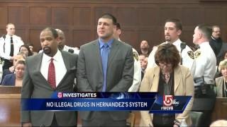 Toxicology tests show Hernandez hadn't used drugs