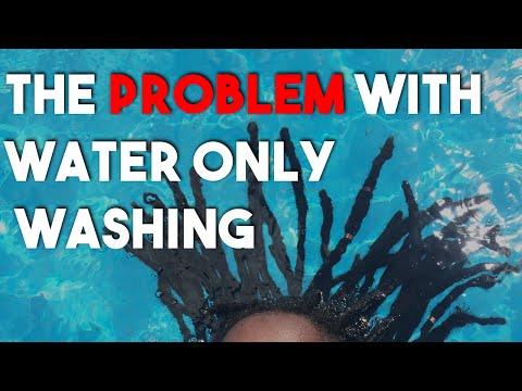 Water Only Washing Locs