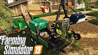 #44 - CI DIAMO SOTTO COL CIPPATO! -  FARMING SIMULATOR 19 ITA RUSTIC ACRES