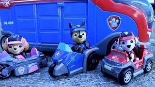 PATRULLA CANINA salva el PATRULLA BUS y a RYDER! PAW PATROL Paw Patroller Patrulla de cachorros