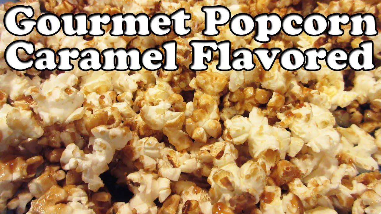 Popcorn Corn Caramel Gourmet Microwave Air Popped Kernels Easy Desserts Dessert Ideas Jazevox