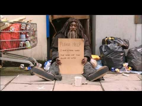 Lenny Henry homeless