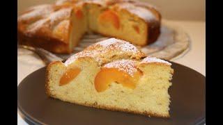 Очень вкусный абрикосовый пирог в мультиварке Готовим с семейкой ЧУ