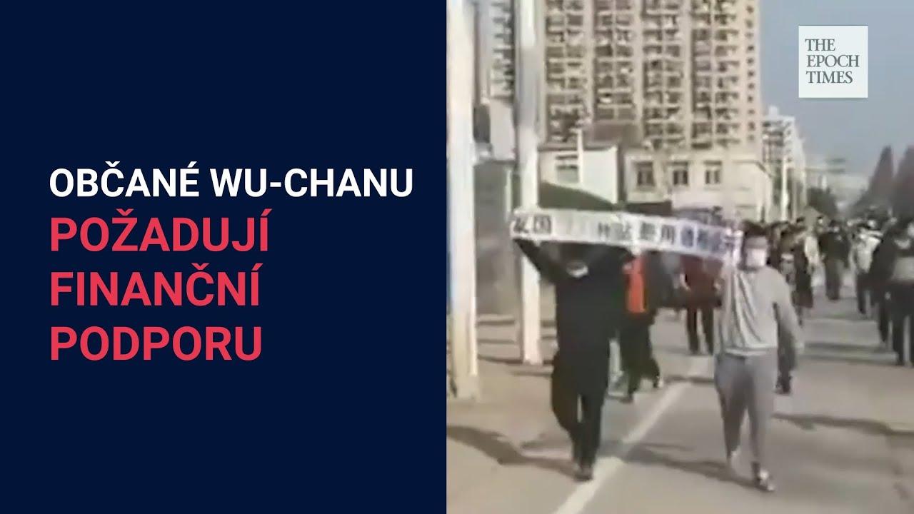 Obyvatelé Wu-chanu požadují kvůli karanténě finanční pomoc