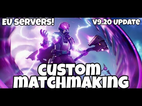 how does custom matchmaking key work on fortnite