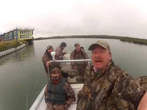 Blast & Cast Men's Ministries Duck Hunt 2015 Day One - YouTube