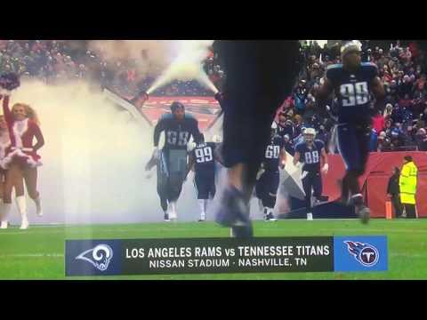 """NFL on Fox """"Rams vs. Titans"""" open December 24, 2017"""