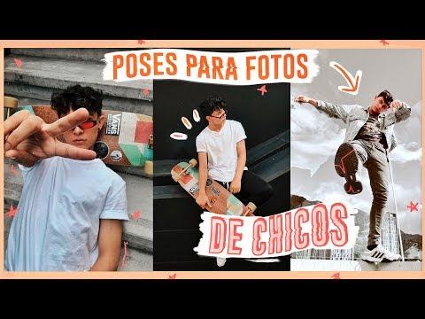 6 IDEAS DE FOTOS PARA CHICOS + Cómo posar en las fotos