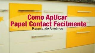Como Envelopar Móveis Com Papel Contact (sem bolhas)