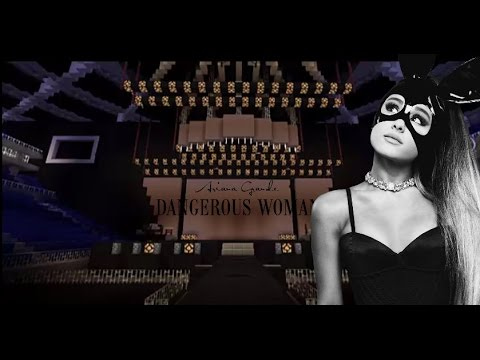 Ariana Grande - Dangerous Woman Tour (Fanmade Stage) Minecraft PE