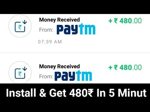 Install & Get ₹480 Free Paytm Cash In Just 5 Minutes