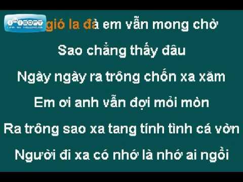 Bèo Dạt Mây Trôi - Anh Khang(Karaoke)