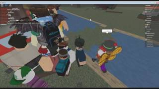 Rencontre G0Z sur Roblox le jour de la Saint-Valentin (Roblox Myths and Legends)