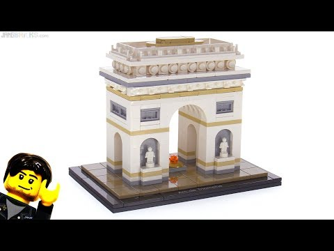 LEGO Architecture Arc de Triomphe review 21036