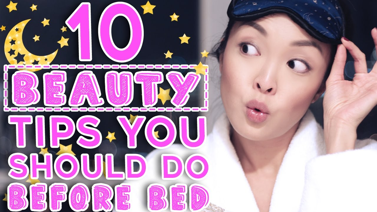 12 Beauty Sleep Tips You Should Be Doing Before Bed!