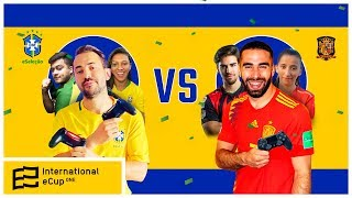 BRASIL X ESPANHA - AO VIVO - INTERNATIONAL ECUP ONE