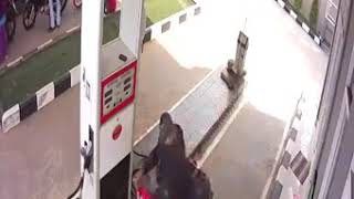 Petrol Pump Accident