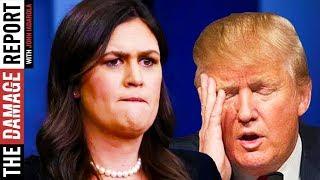 Sarah Huckabee Sanders' 'N-Word Tape' Answer Makes Trump Sound SUPER Guilty
