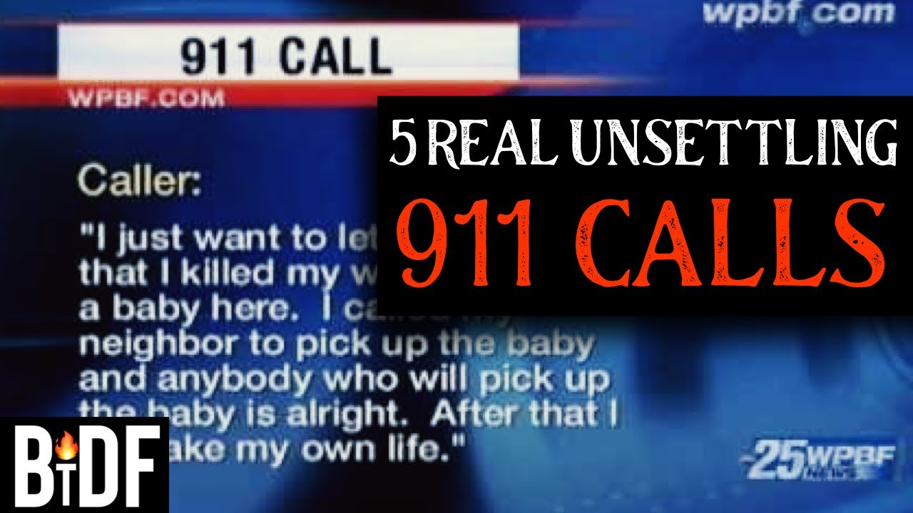 5 REAL Unsettling 911 Calls - True Crime