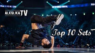 Bboy Hong 10 - Top 10 Sets