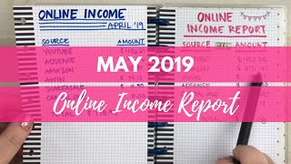 YouTuber Income Report   May 2019 Online Income