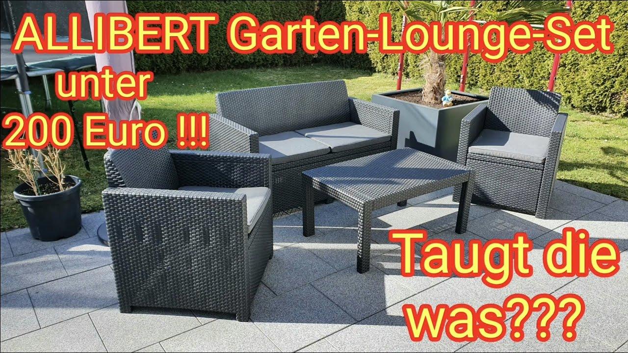 """Download Gartenlounge-Set """"MERANO"""" von """"Allibert by Keter"""" unter 200 Euro - taugt das was???"""