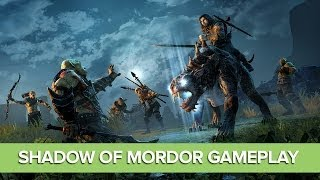 Shadow of Mordor Gameplay Preview - Rideable Beasts, Orc Strongholds