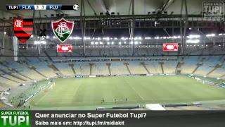 Flamengo 3 x 3 Fluminense - Quartas de Final - Copa Sul-Americana - 01/11/2017 - AO VIVO