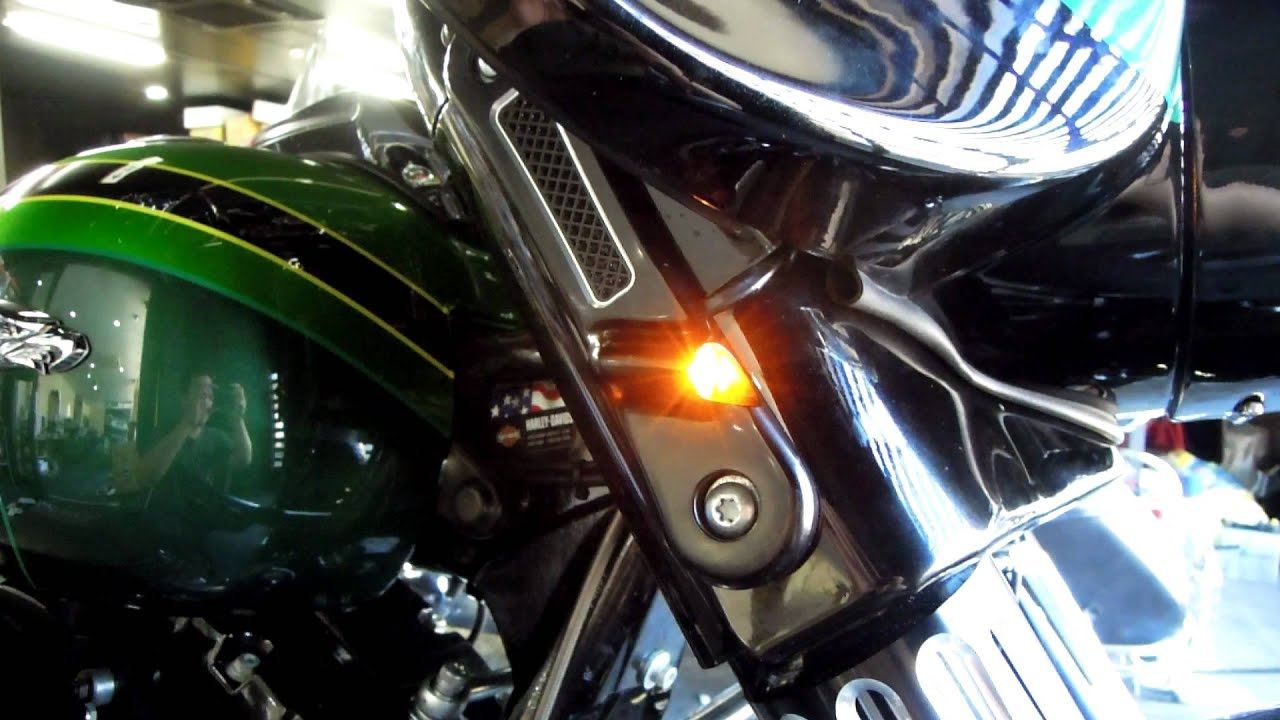 Thunder Cycle Designs Led Front Turn Signal Bar Kaputi