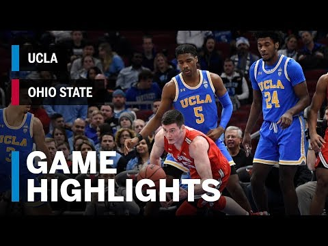 Highlights: UCLA vs. Ohio State | Big Ten Basketball