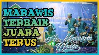 Marawis Al-Mukhlisin Tangerang Juara 1 Festival Marawis YPI Al-Badriyah Sukabumi