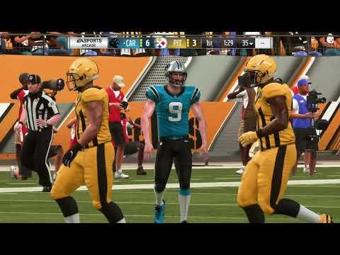 Madden 19 Week 10 Panthers VS Steelers