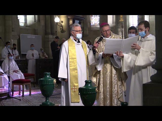 Bénédiction des huiles, Messe chrismale 2021