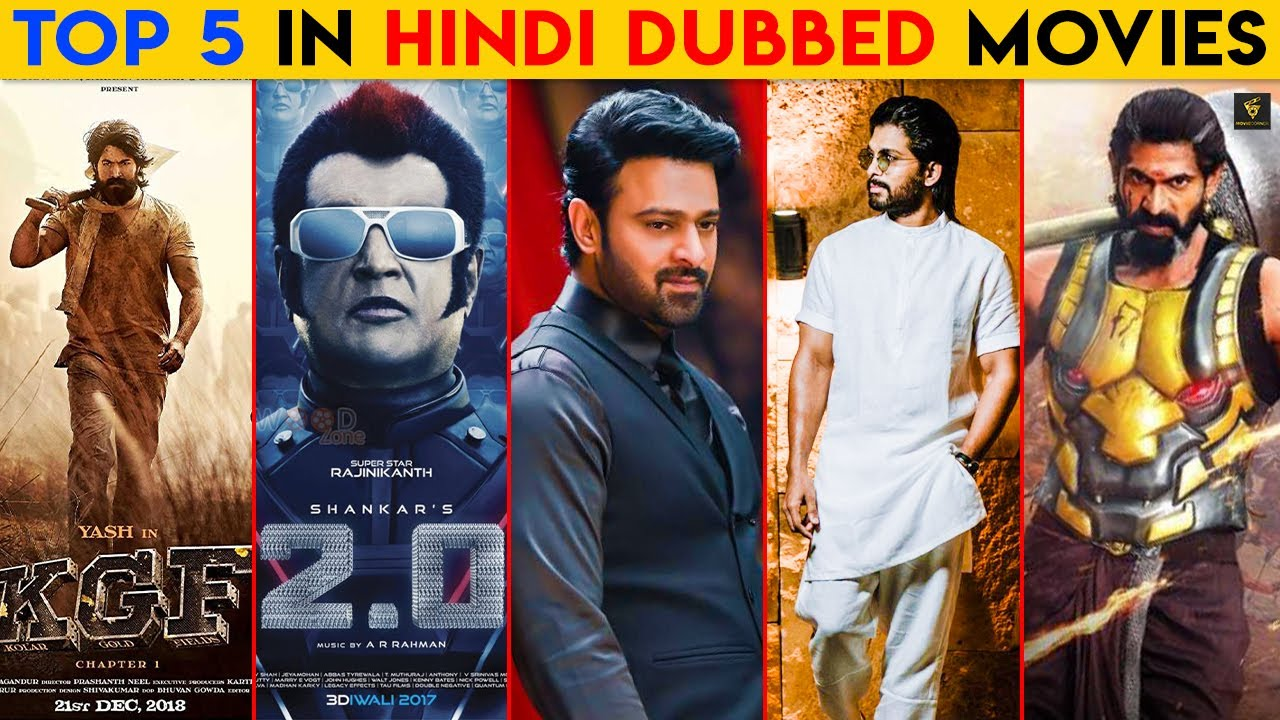Top 5 Hindi Dubbed Movies | New South Indian Movies Dubbed in Hindi 2020 Full, Box Office Collection