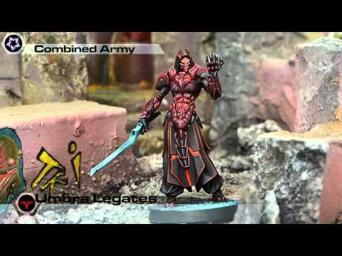 Corvus Belli INFINITY Combined Army Faction Video