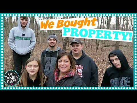 Download Youtube: WE BOUGHT PROPERTY TO BUILD OUR DREAM HOME!