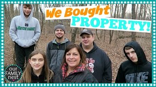 connectYoutube - WE BOUGHT PROPERTY TO BUILD OUR DREAM HOME!