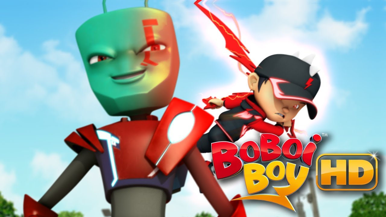 Boboiboy Vs Ejo Jo Hd Youtube