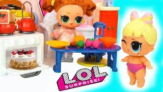 мама в ШОКЕ! Дети одни дома! Куклы ЛОЛ Сюрприз / Мультики с Игрушками / LOL Dolls