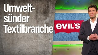 Christian Ehring: Umweltsünder Textilbranche