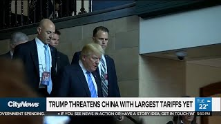 U.S. threatens China with more tariffs