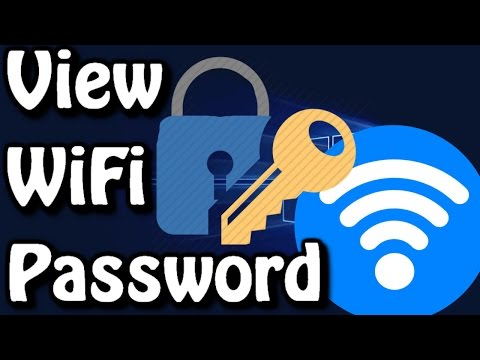 How To View WIFI Password On Windows 10/8/7 ✔