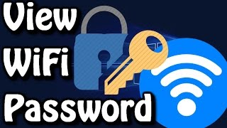 how to view wifi password on windows 10 8 7