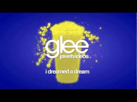 Glee Cast - I Dreamed A Dream (karaoke version) mp3