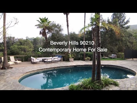 Beverly Hills 90210 home for sale in celebrity enclave of Hidden Valley Estates - Christophe Choo