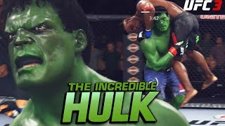 The Hulk In The UFC! Training For Infinity War 2! EA Sports UFC 3 Gameplay