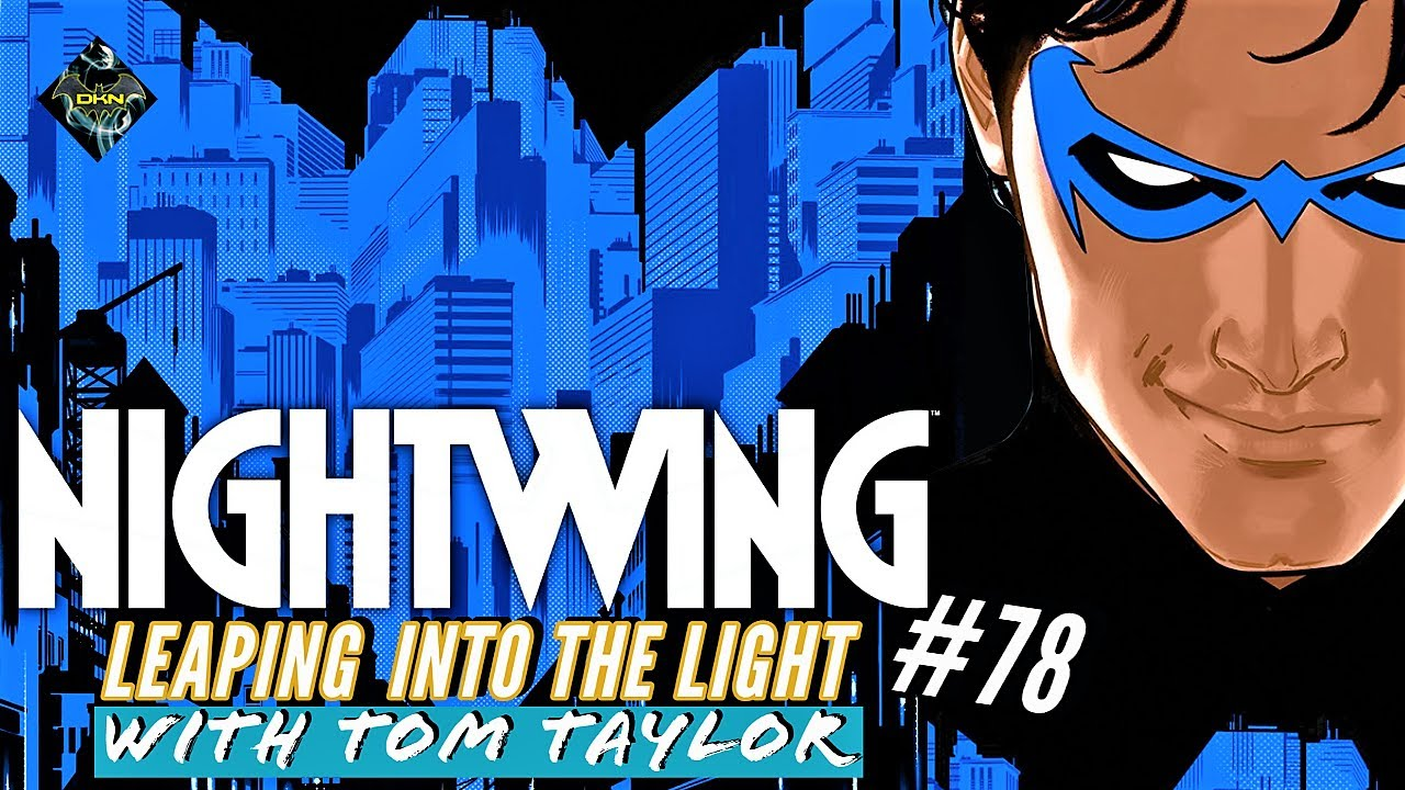 Tom Taylor Dives Into NIGHTWING #78 | DC Infinite Frontier | Comics Insider Review