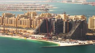 Trusses Installation of Viceroy Dubai Palm Jumeirah