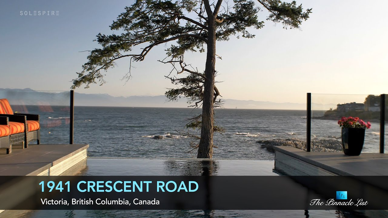 Oceanfront Luxury Home 1941 Crescent Rd Victoria Bc Canada Luxury Home Design Youtube