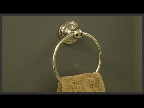 Towel Ring Installation Youtube